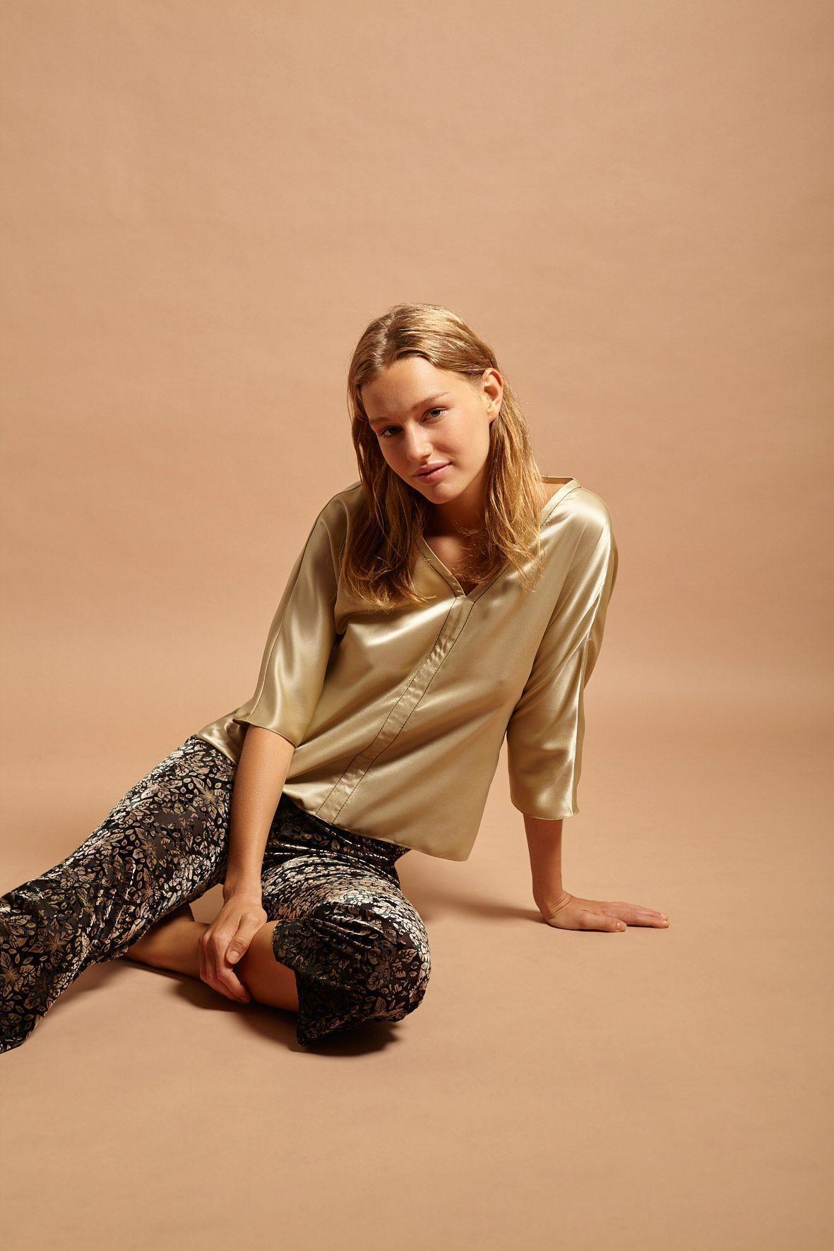 diseñadora-de-moda-Blusa Carolina
