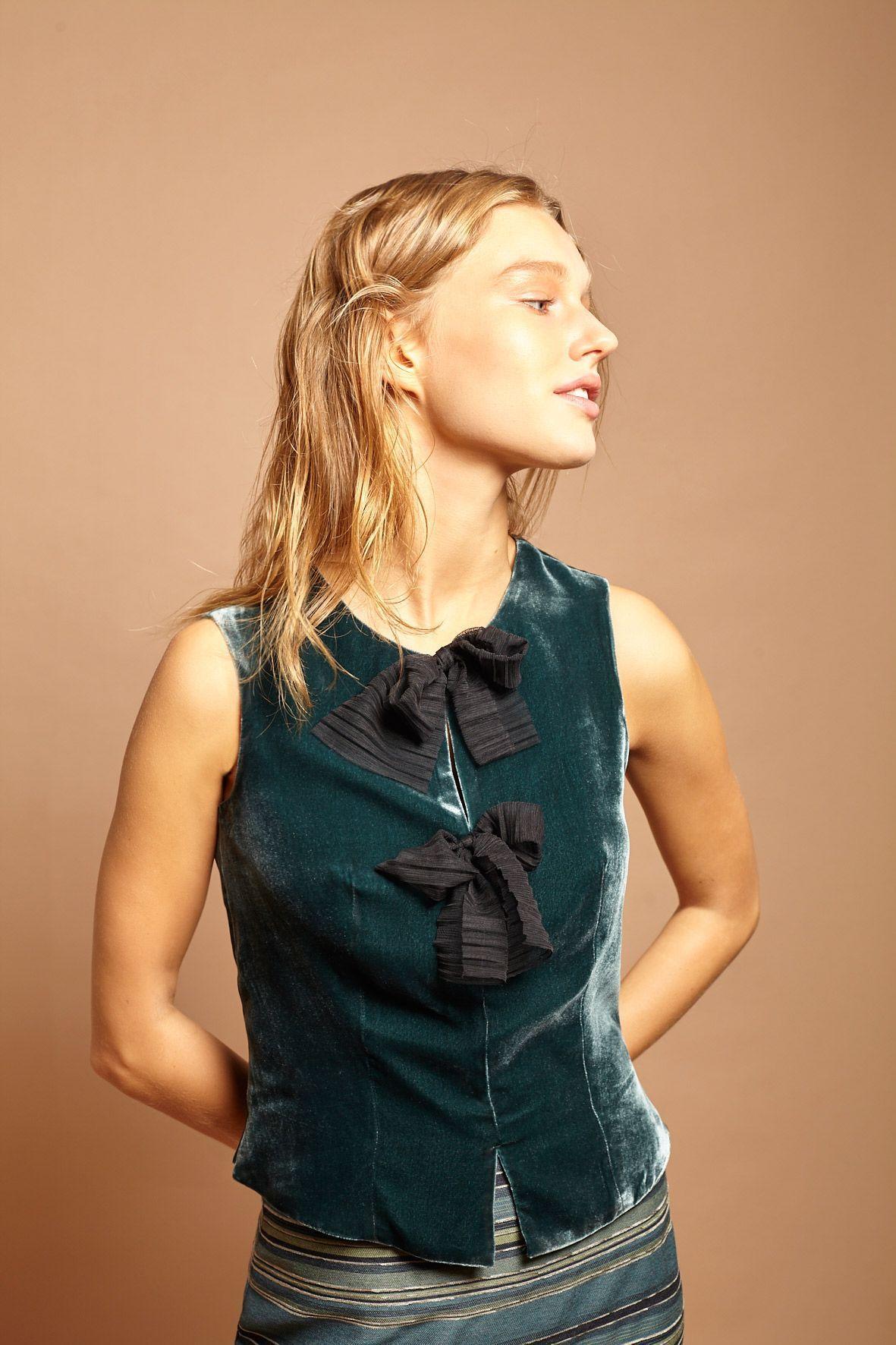 diseñadora-de-moda-Top Isa
