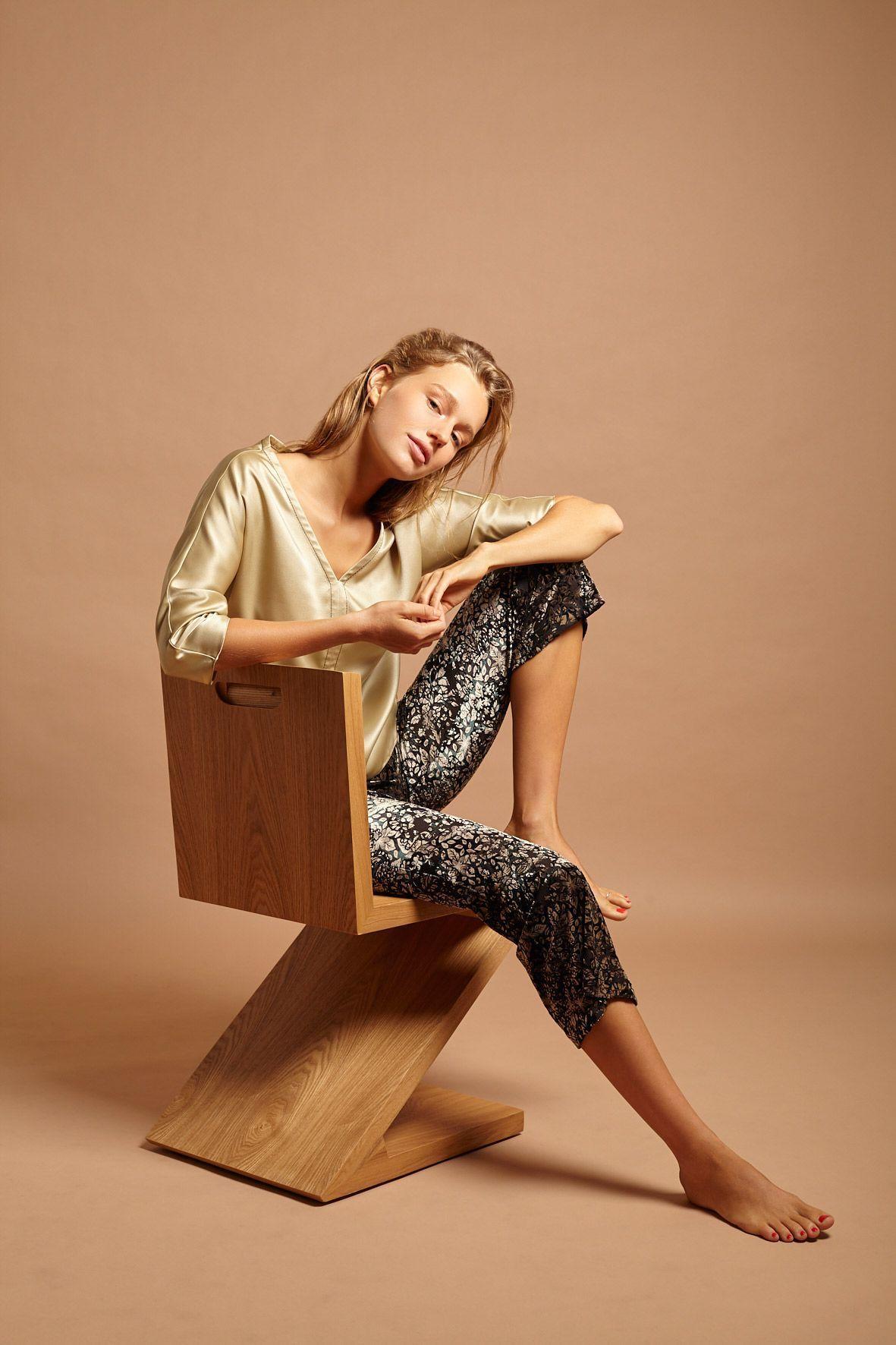 Pantalón de terciopelo elástico Savannah