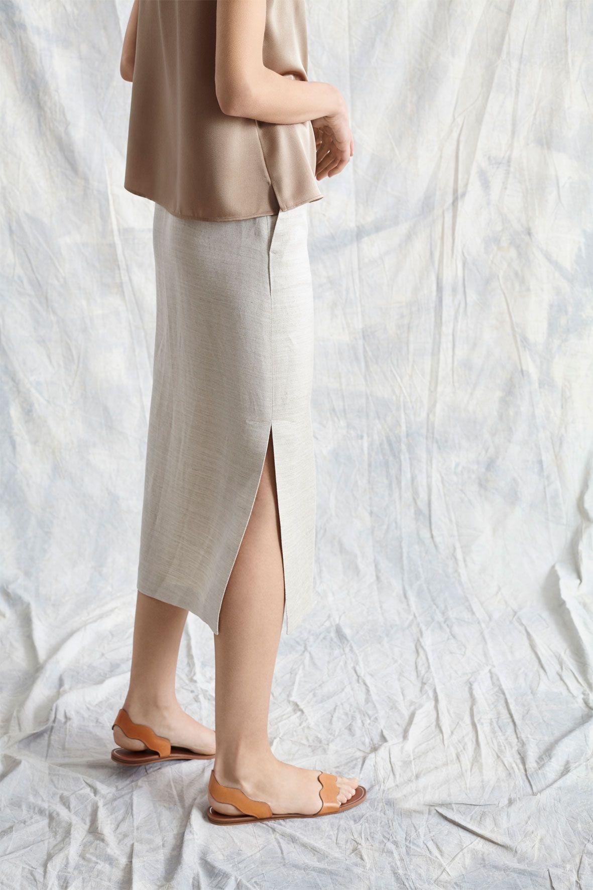 diseñadora-de-moda-Falda Ruth