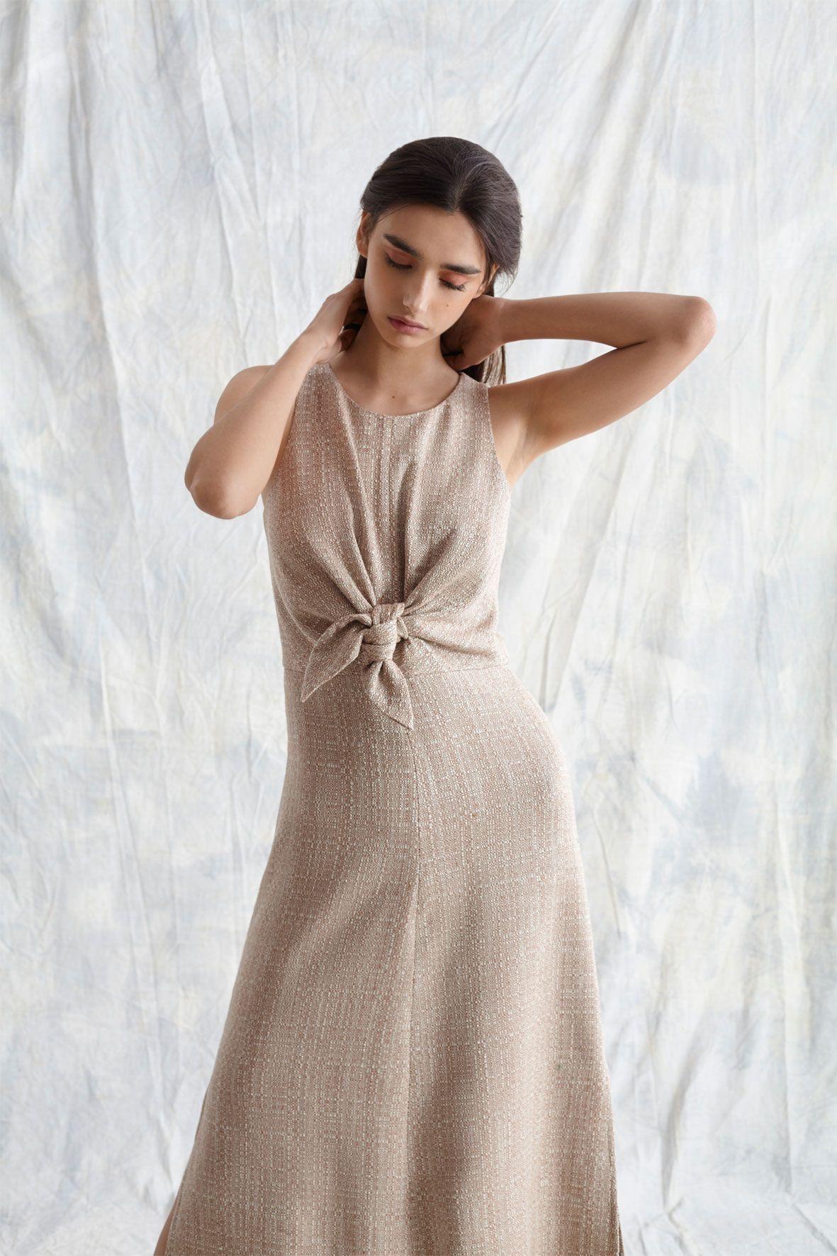 diseñadora-de-moda-Vestido Mar Rústico