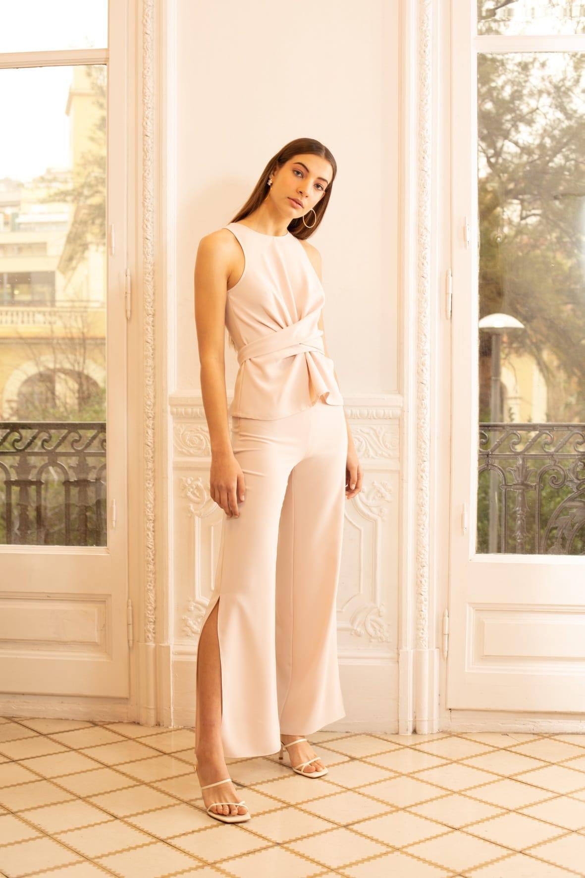 diseñadora-de-moda-Pantalón Naomi Crepe