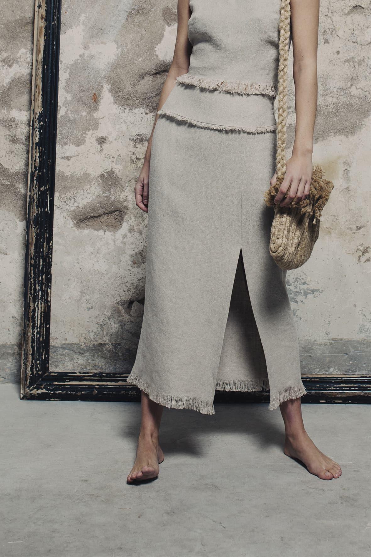 diseñadora-de-moda-Falda Aura