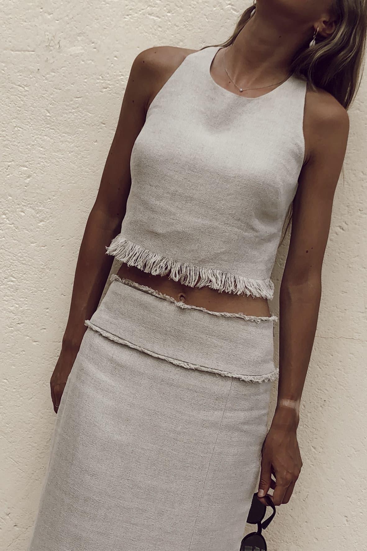 diseñadora-de-moda-Top Malva