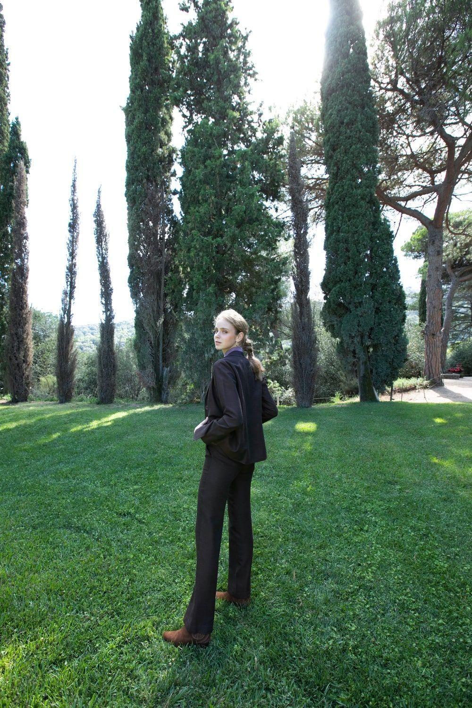 diseñadora-de-moda-Berta Blazer Textured