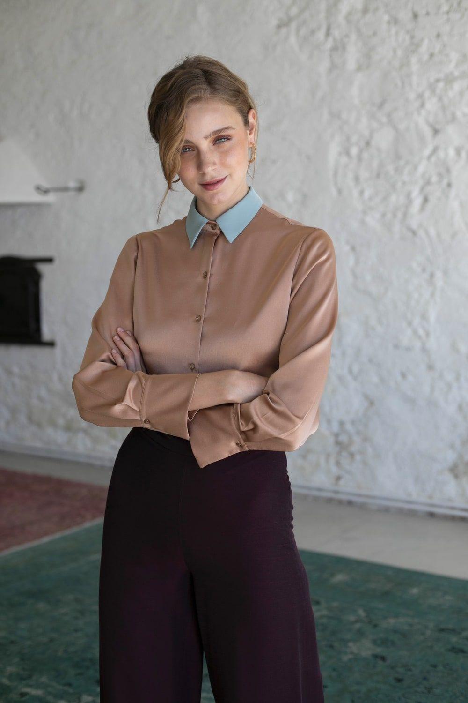 diseñadora-de-moda-Mabel Shirt