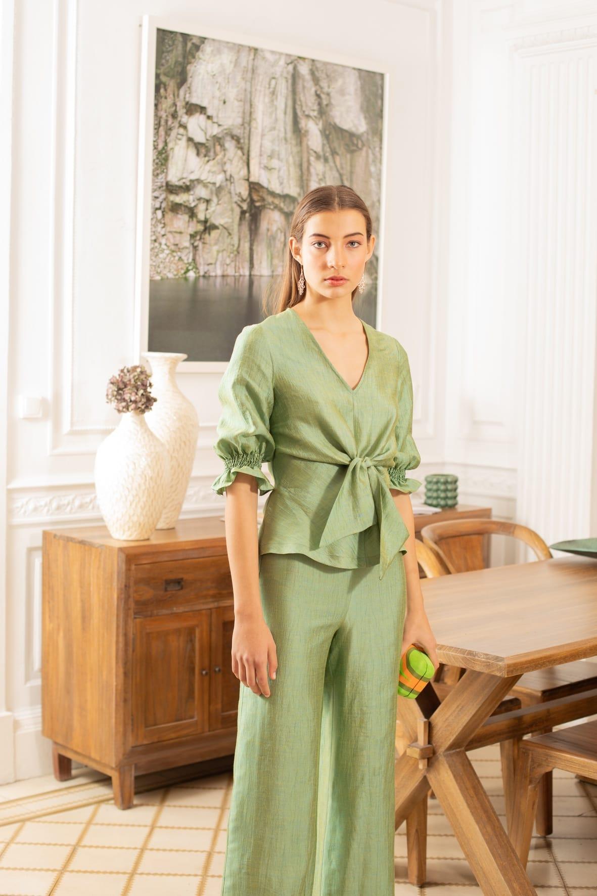 diseñadora-de-moda-Gloria Linen Pants