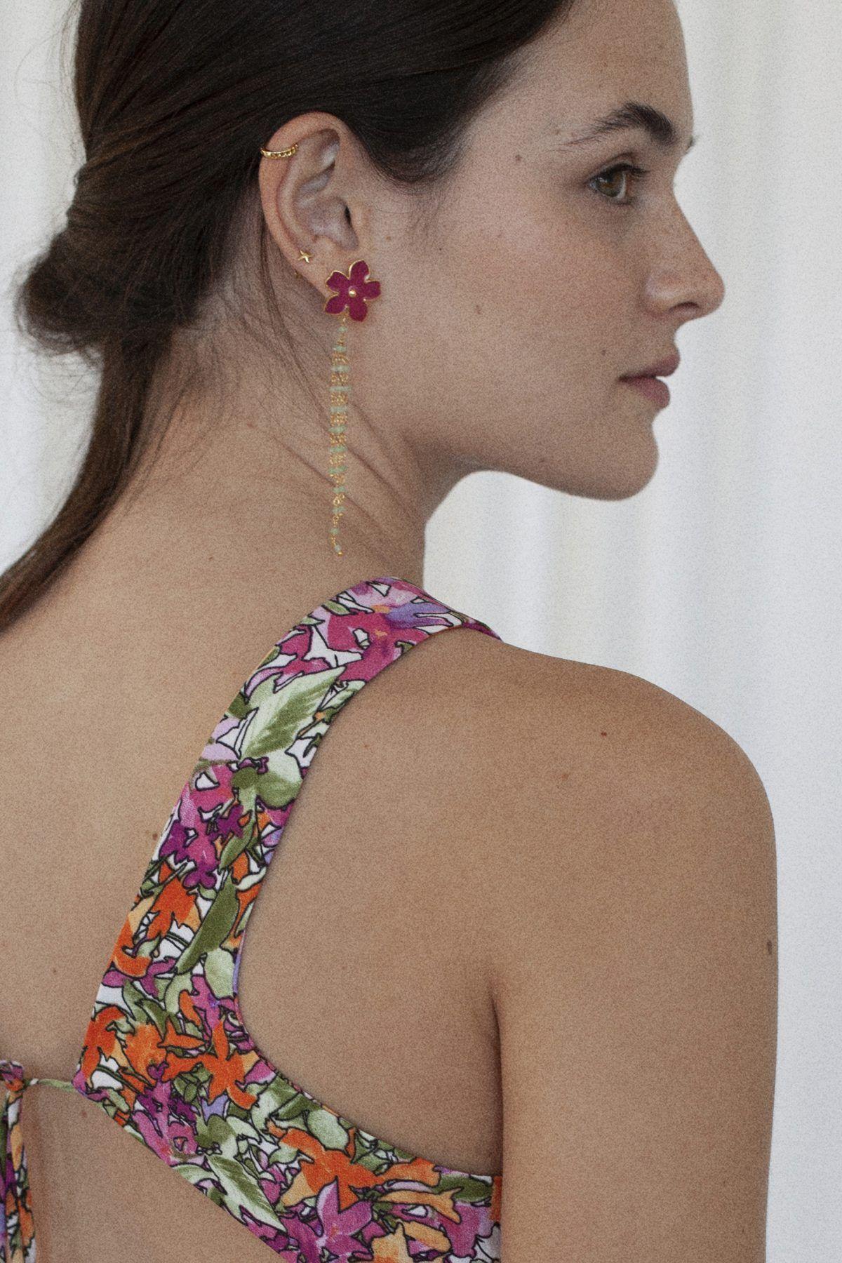 diseñadora-de-moda-Medusa Earrings