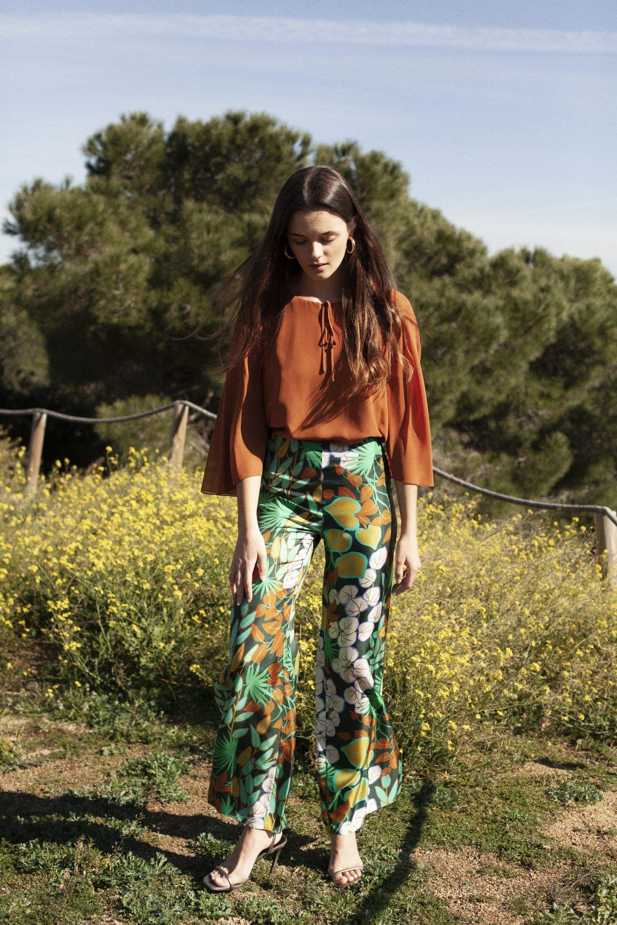 diseñadora-de-moda-Naomi Print Pants