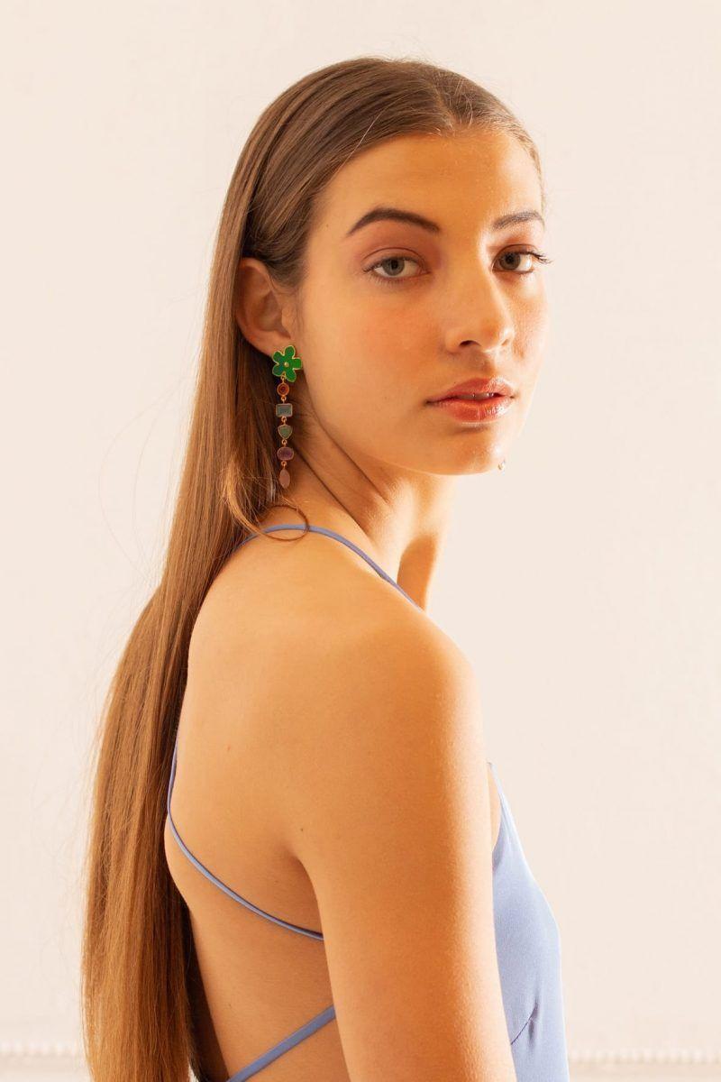 diseñadora-de-moda-Pendientes Medusa