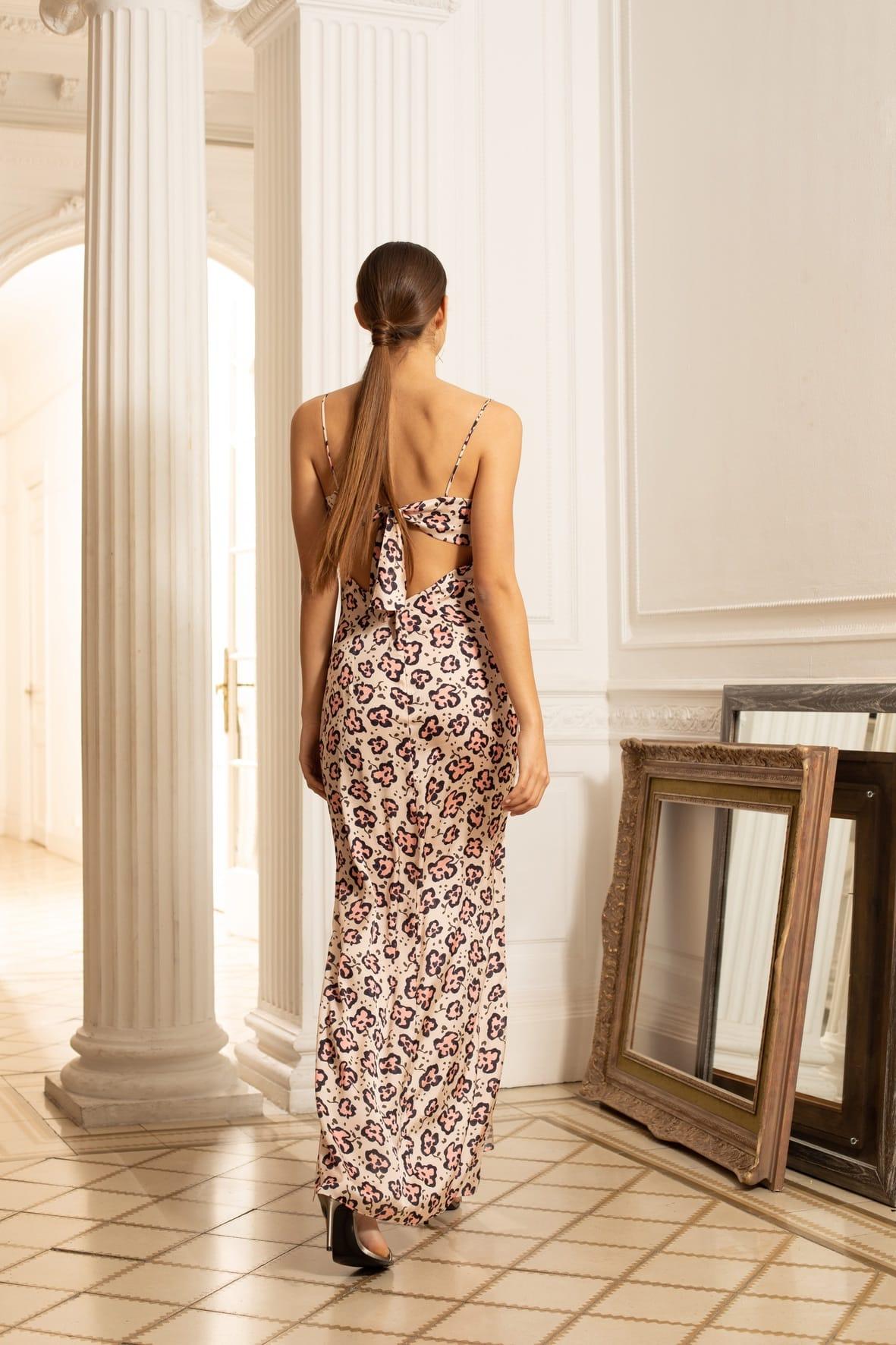 diseñadora-de-moda-Sophie Print Dress