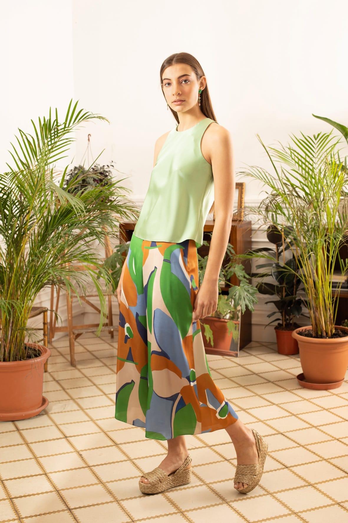 diseñadora-de-moda-Vega Print Pants