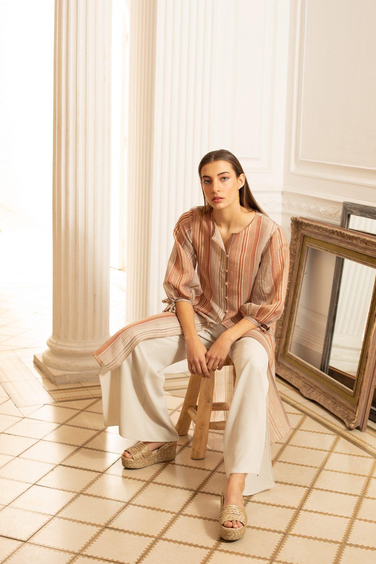 diseñadora-de-moda-Rita Blouse