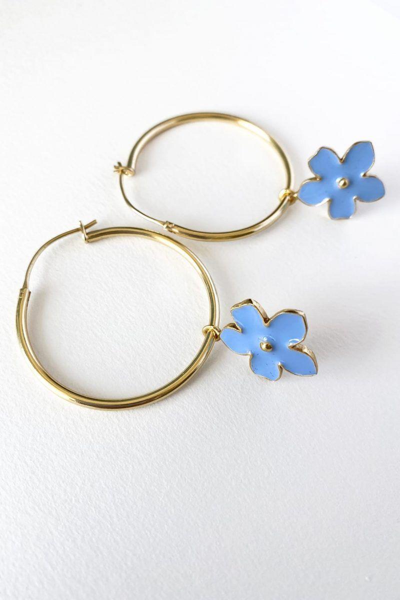 diseñadora-de-moda-Magnolia Earrings