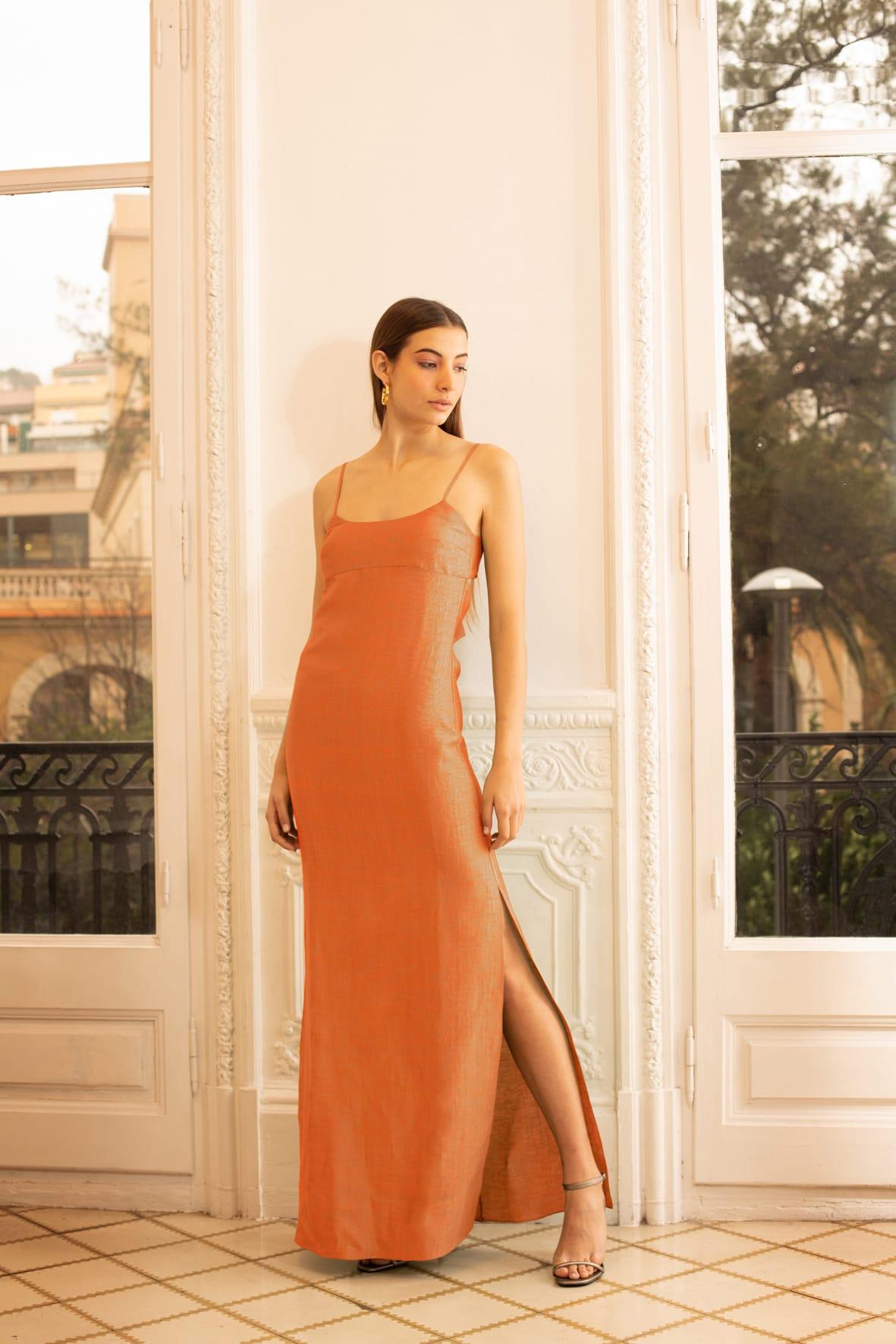 diseñadora-de-moda-Vestido Sophie Lino