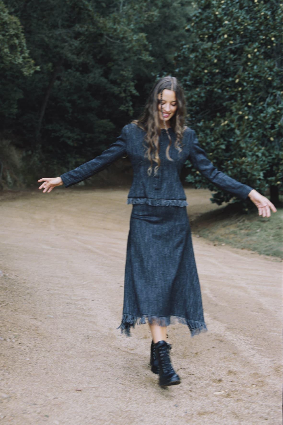diseñadora-de-moda-Juno Skirt