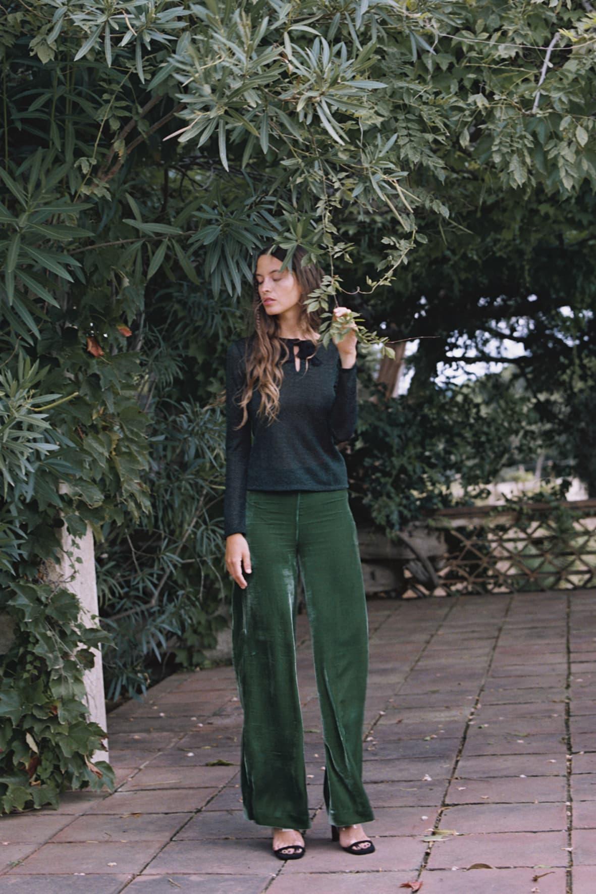 diseñadora-de-moda-Velvet Gloria Pants