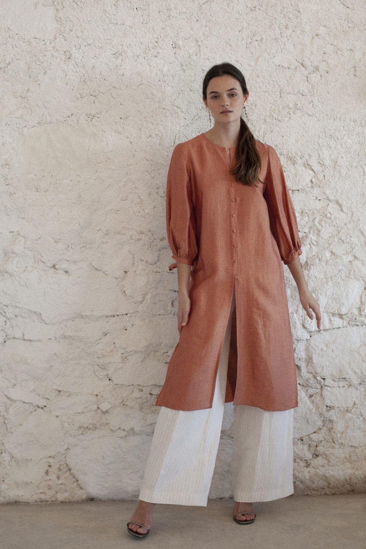 diseñadora-de-moda-Blusón Rita Lino