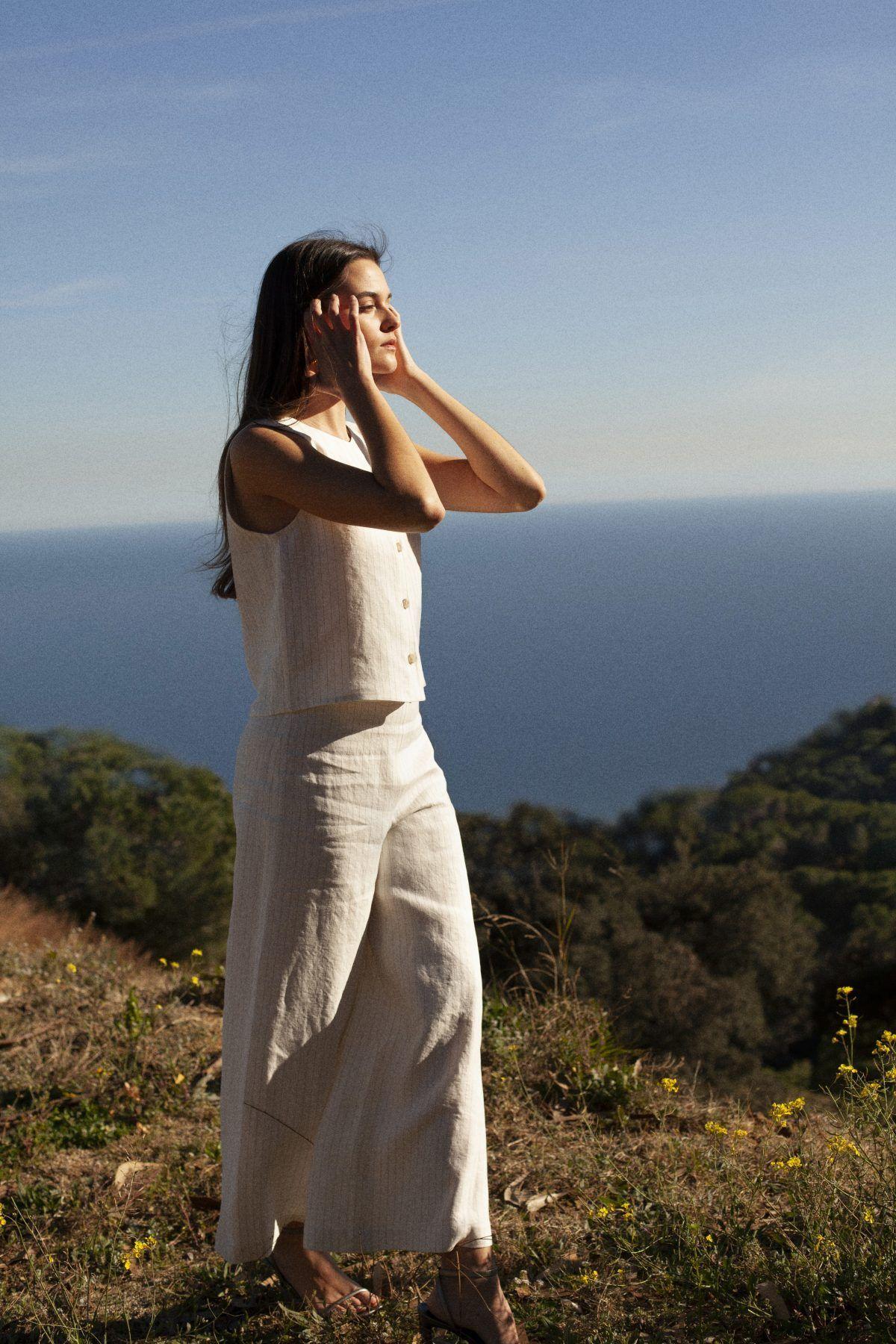 diseñadora-de-moda-Paula Stripe Pants