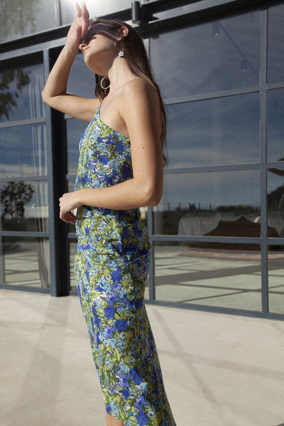 diseñadora-de-moda-Olimpia Print Dress