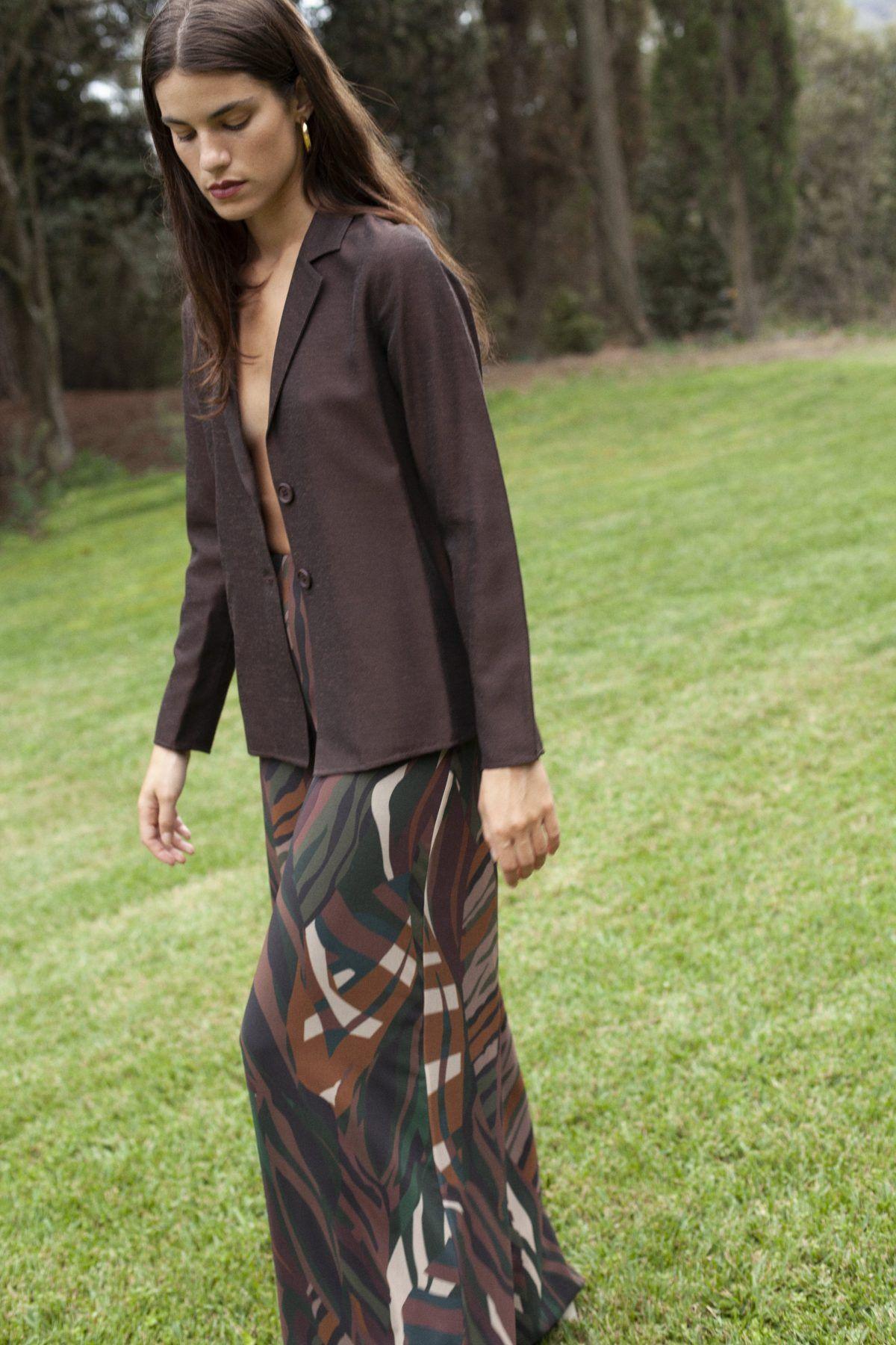 diseñadora-de-moda-Lucia Forest Print Pants